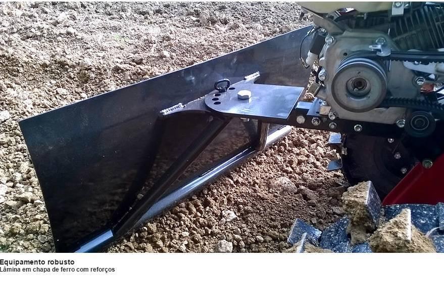 Lamina Frontal para Motocultivador a Gasolina - BSS Maquinas
