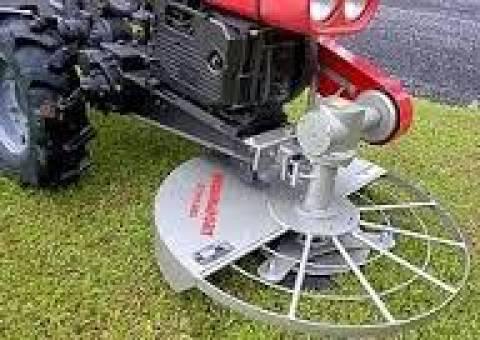 Roçadeira Frontal RF-900 p/ Micro Trator Kawashima/Toyama - BSS Maquinas
