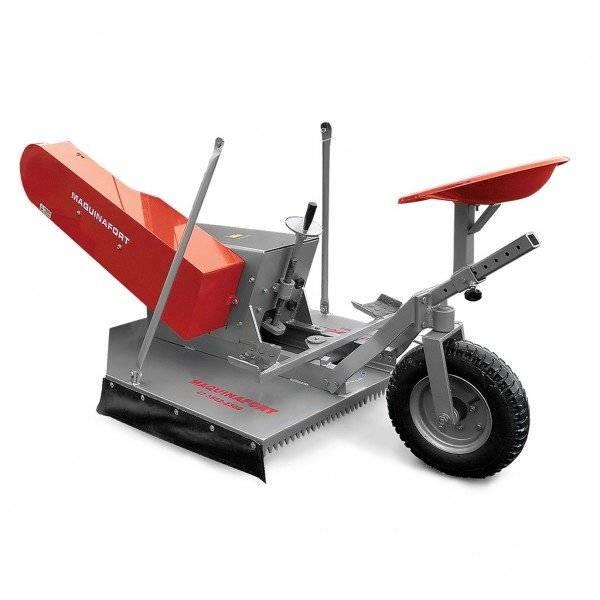 Aparador de Grama Traseiro AGT 900 Para Micro Trator - BSS Maquinas