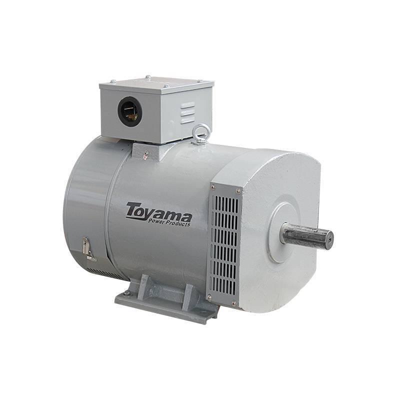 Alternador de Energia Toyama TA5.2CS2 Monof 5.2 kw 115/230V - BSS Maquinas