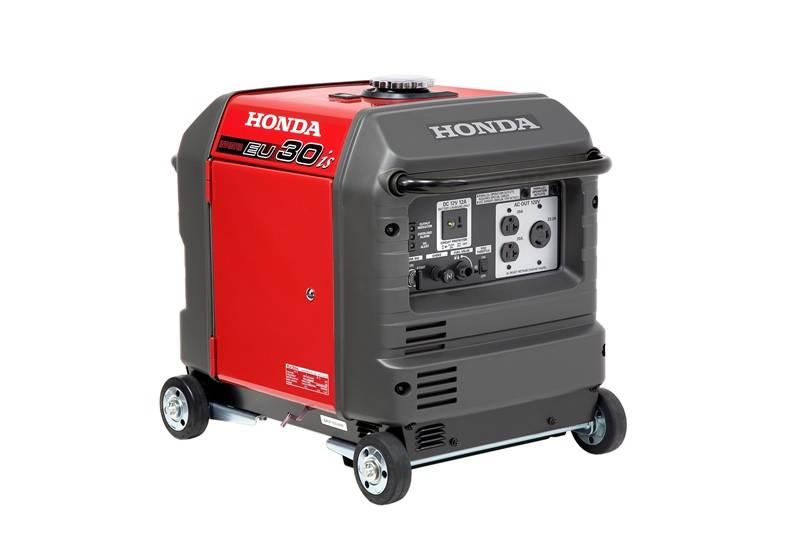 Gerador Honda EU30is Gasolina 120V 3000W P. elétrica mono - BSS Maquinas