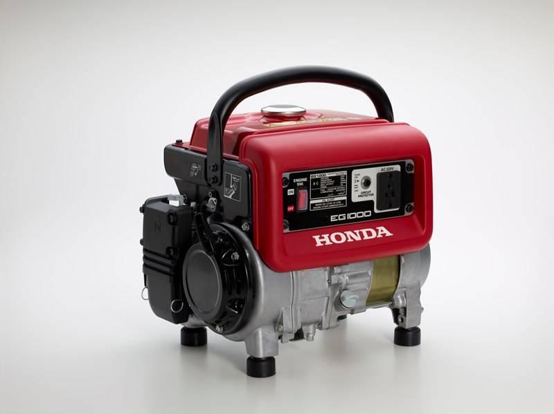 Gerador Honda EG1000 Gasolina 220V 1000W P.manual, Em OFERTA - BSS Maquinas