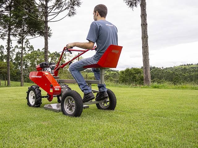Aparador Grama AGT-500 p/ Motocultivador Branco BTTG, OFERTA - BSS Maquinas