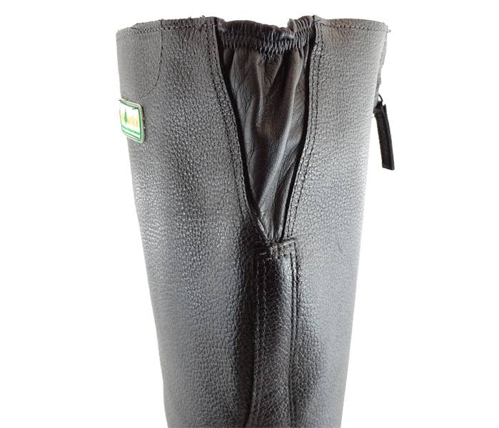 Bota Florestal Tecmaterc/ Bico Aço Proteção Frontal preto - BSS Maquinas