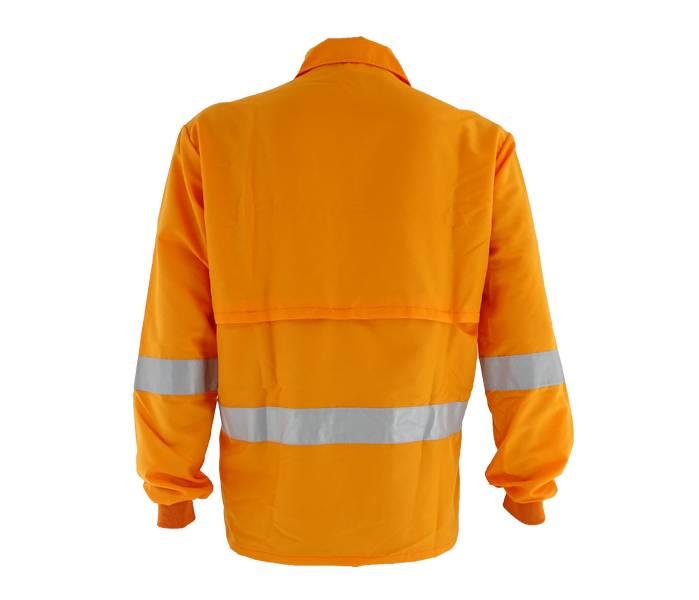 Camiseta Tecmater Roçador Refletiva Cor Laranja P,M,G,GG,XP - BSS Maquinas