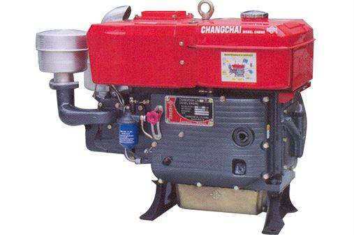 Moto Changchai L 24-M Diesel Partida Elétrica HOPPER 22 HP - BSS Maquinas