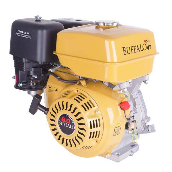 Motor Buffalo BFG 8.0cv Gasolina Filtro Óleo, EM PROMOÇAO!!! - BSS Maquinas