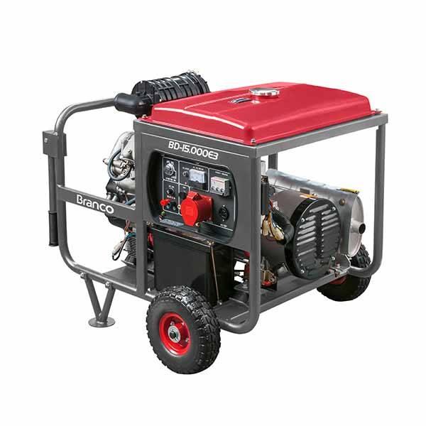 Gerador Trif. Branco DieselBD-15000 E3 G2 10KVA P. Elétrica - BSS Maquinas