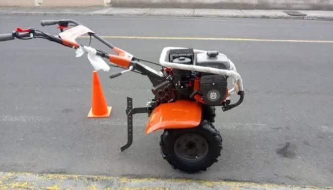Motocultivador à Gasolina Husqvarna TF338 212 Cc 95 Cm corte - BSS Maquinas