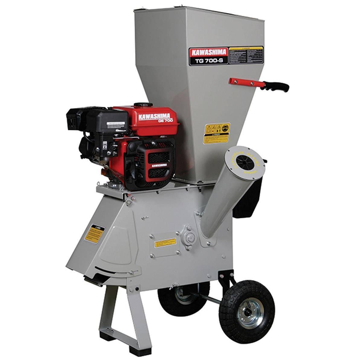 Triturador/forrageiro GasolinaKawashimaTG700-S 4tempos 7HP - BSS Maquinas