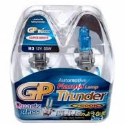 Kit Lampadas Super Brancas GP Thunder Crystal 7500k | H3
