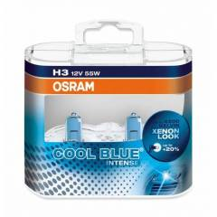 Kit Lâmpadas Osram Cool Blue Intense - H3