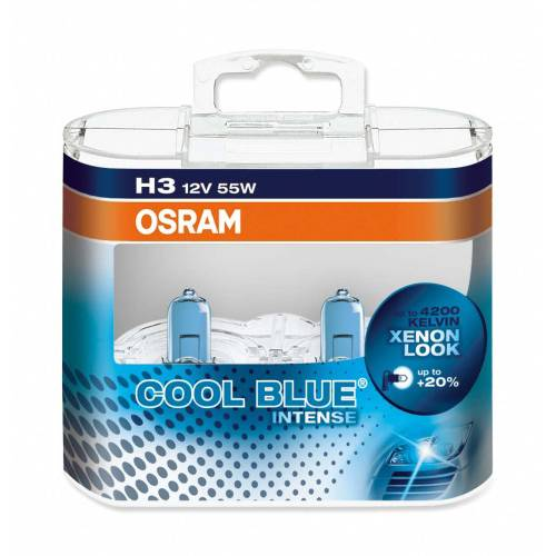 Kit Lâmpadas Osram Cool Blue Intense - H3 | DUB Store