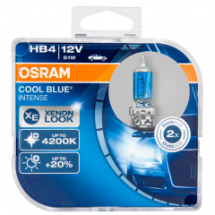 Kit Lâmpadas Osram Cool Blue Intense - HB4