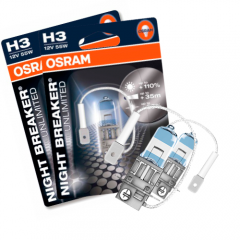 Kit Lâmpadas Osram Night Breaker Unlimited - H3