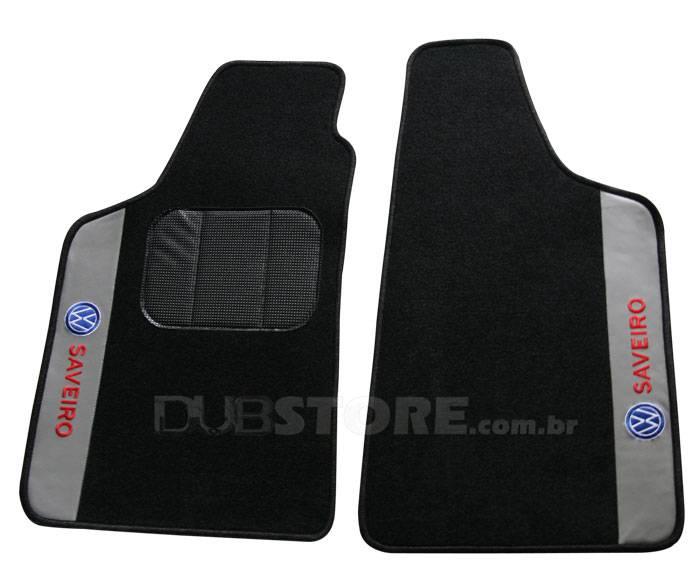 Jogo de Tapetes Automotivo em Carpet para Volkswagen Saveiro (2° geração) | DUB Store