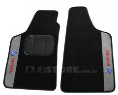 Jogo de Tapetes Automotivo em Carpet para Volkswagen Saveiro (3° geração)