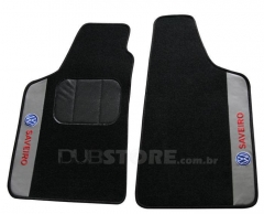 Jogo de Tapetes Automotivo em Carpet para Volkswagen Saveiro (6° geração)
