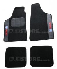 Jogo de Tapetes Automotivo em Carpet para Volkswagen Parati (2° geração)