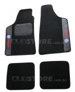 Jogo de Tapetes Automotivo em Carpet para Volkswagen Parati 2 geracao