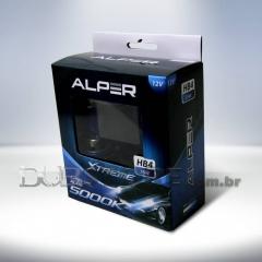 Kit Lâmpadas Alper Crystal Blue Xtreme 5000k - HB4