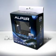 Kit Lâmpadas Alper Crystal Blue Xtreme 5000k - H11