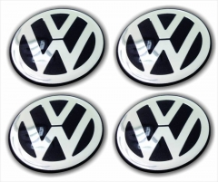 Emblemas/Center Cap | VW - Volkswagen 65mm
