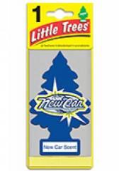 Aromatizante Little Trees - Fragrância New Car