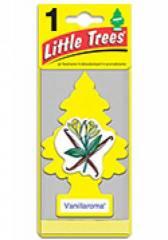 Aromatizante Little Trees - Fragrância Vanillaroma
