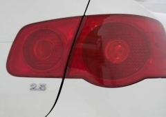 Película para farol ou lanterna na cor Vermelha 50x50