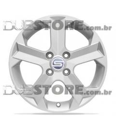 Jogo de Rodas GM Montana Scorro S-209 14x5,5 4x100   Cinza Claro