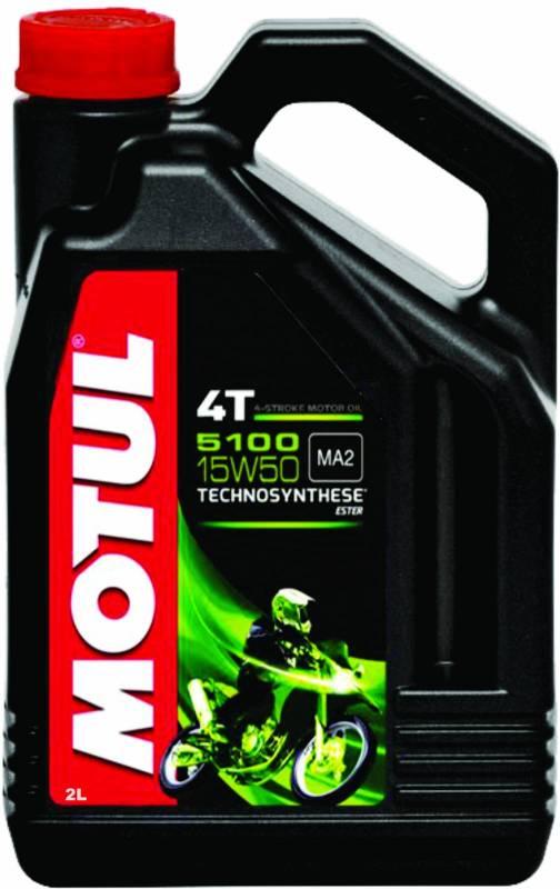 Óleo Motul 5100 4T 15W50 Technosynthese 2Litros | DUB Store