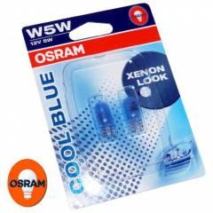 Kit Lâmpadas Osram Cool Blue - W5W Pingão