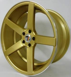 Jogo de Rodas GSW 9140 Stern 19x8,5/19x9,5 - 5x114 | Dourada | DUB Store