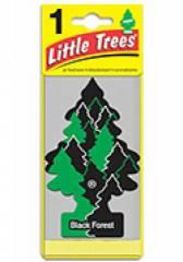 Aromatizante Little Trees - Fragrância Black Forest