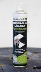 Envelopamento em Spray HM Rubber Branco Fosco