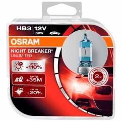 Kit Lâmpadas Osram Night Breaker Unlimited - HB3 (9005)