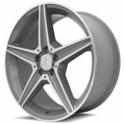 Jogo de Rodas Mercedes Benz C250 AMG RAW 19x8 5x112  Diamantada com fundo grafite