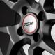 Jogo de Rodas TSW Trackstar 17x7 4x108  Preto Fosco