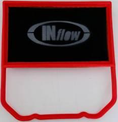 Filtro INFlow inbox VW Up 1.0 12V MPI 2014+ / Fox 1.0 12V MPI Total Flex 2014+ /Gol G7 1.0 12V 2017+