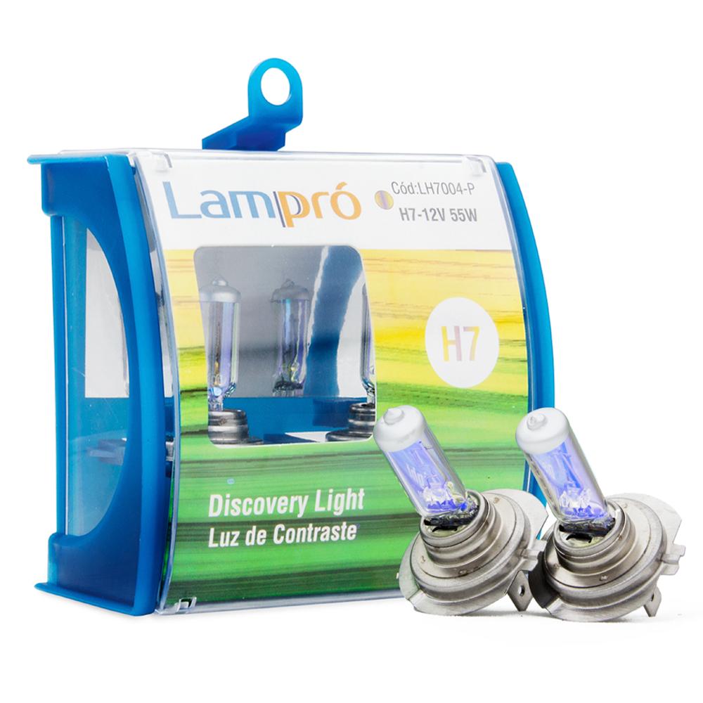 Kit Lâmpadas Lampró Amarela 3000k - H7 | DUB Store