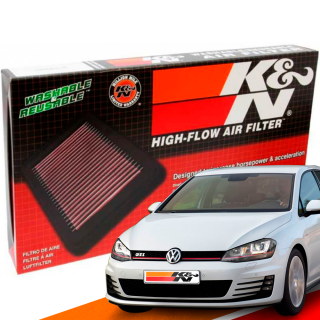 Filtro de Ar Esportivo K&N Inbox VW Golf MK7 GTI 2014+ | DUB Store