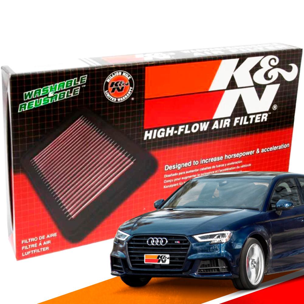 Filtro de Ar Esportivo K&N Inbox Audi S3 2.0 13/16   DUB Store