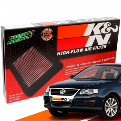Filtro de Ar Esportivo K&N Inbox VW Passat 2.0 TFSI 2010+