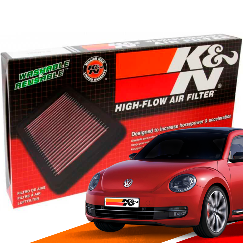 Filtro de Ar Esportivo K&N Inbox VW Fusca Novo 2011+ | DUB Store