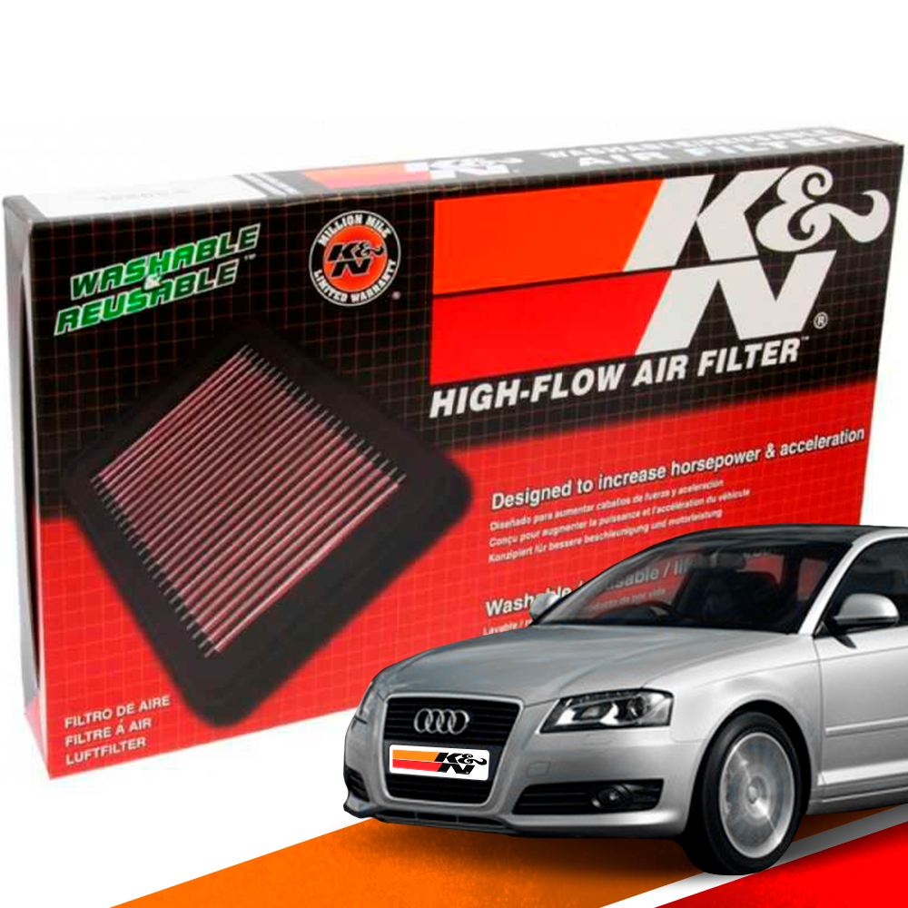Filtro de Ar Esportivo K&N Inbox Audi A3 2.0 TFSI 2009+ | DUB Store