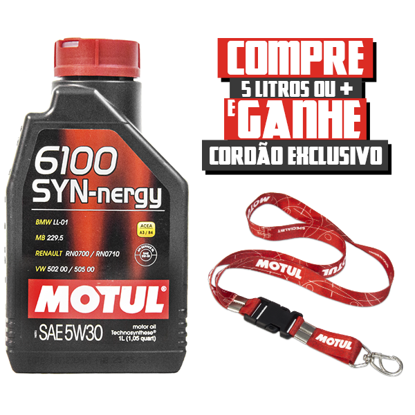 Óleo Motul 6100 SYN-nergy 5W30 | 1 litro | DUB Store