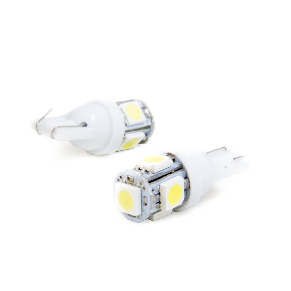 Par pingo LED Aparte Lumen T10 5 LED'S SMD 5050 / 6000K | DUB Store