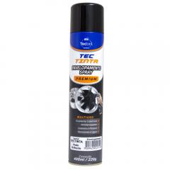 Envelopamento em Spray Tecbril Preto Semi-Brilhante