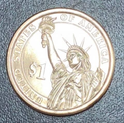 Moeda 1 Dollar Americano - Série Presidentes - Numismática Vieira